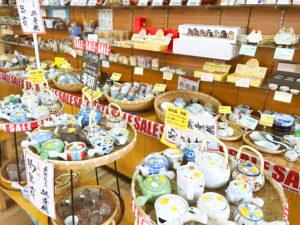 佐賀県武雄温泉物産館|お土産〜陶器販売所